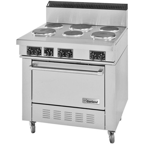 Garland Ss686 24gr Commercial Electric Range 36 W 2