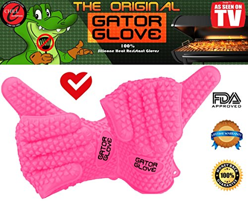 Silicone Gator Glove Replace Oven Safety Mitts And