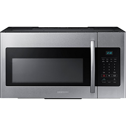 Samsung Me16h702ses 1 6 Cu Ft Over The Range Microwave