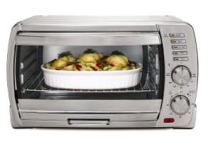 Oster Tssttvskbt 6 Slice Large Capacity Toaster Oven