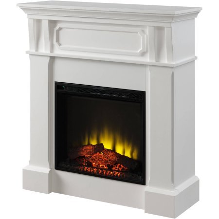 Prokonian Electric Fireplace With 40 White Mantel Stove Replacement Parts